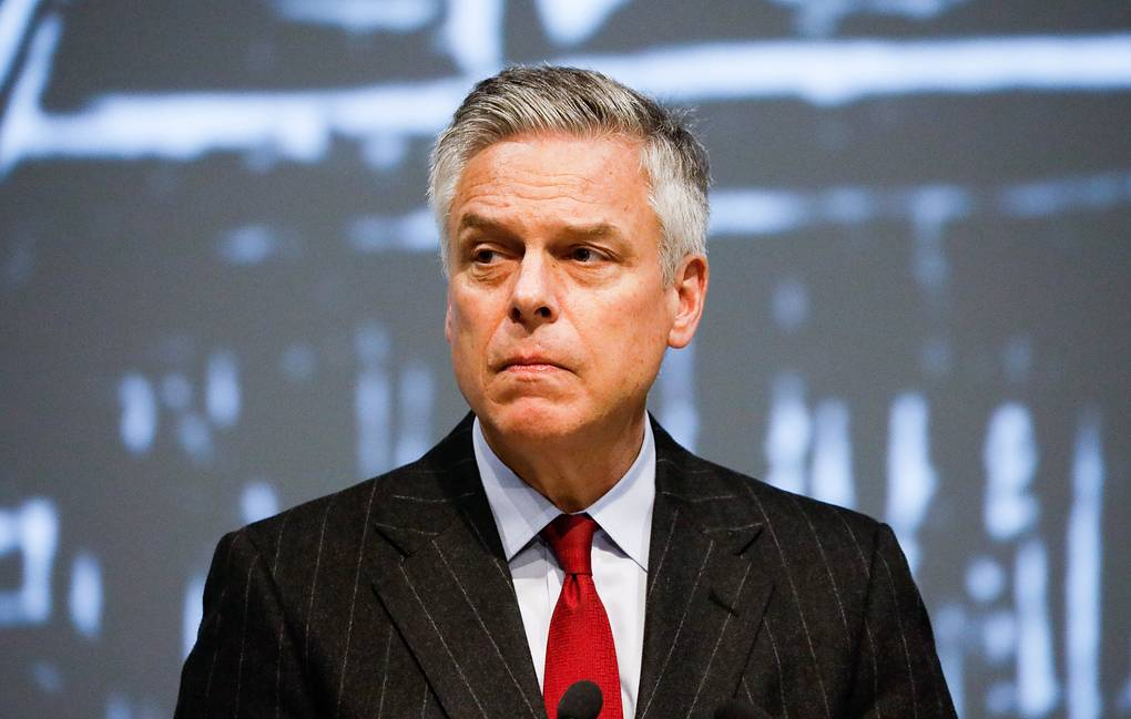 US Ambassador to Russia Huntsman Steps Down From His Post