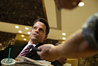 Anthony Scaramucci, a senior adviser to President-elect Donald Trump