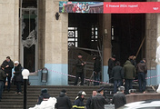 After the explosion in the building of the railway station in Volgograd