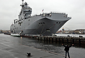 Mistral helicopter carrier (archive)