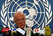 Newly appointed UN Special Envoy for Syria, Staffan de Mistura