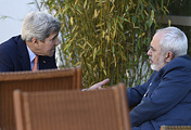 John Kerry and Mohammad Javad Zarif