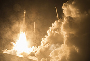 Atlas V rocket carrier launch