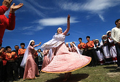 Celebrations of Hidirellez, the Crimean Tatar holiday of spring