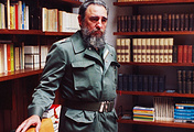 Cuban revolutionary Fidel Castro