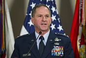 US Air Force Chief of Staff General David Goldfein