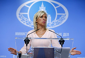 ussian Foreign Ministry's official spokesperson Maria Zakharova