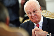 UN Special Envoy of the Secretary-General for Syria Staffan de Mistura