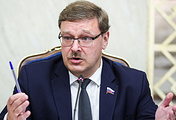 Head of Russian Federation Council's International Affairs Committee Konstantin Kosachev