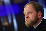 Тhe Reverend Alexander Volkov, spokesman for Patriarch Kirill of Moscow and All Russia