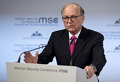 Chairman of the Munich Security Conference Wolfgang Ischinger