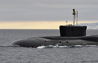 Project 955 Borei-class fourth-generation strategic nuclear-powered submarine Vladimir Monomakh