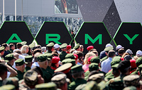 The opening ceremony of the 2018 International Army Games at Patriot Park in Alabino, Moscow region