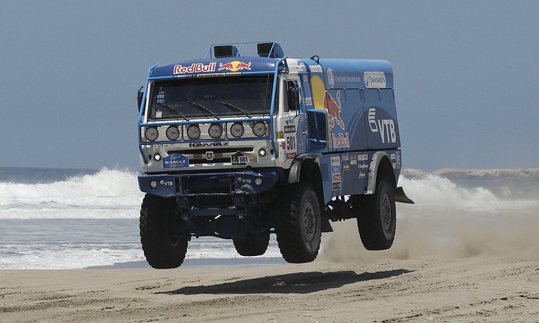 Triumph of KAMAZ-Master team in Dakar rally