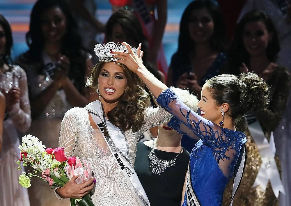 "World's most famous beauty contest ""Miss Universe"" took place in Russia the first time in its more than 60-year history"
