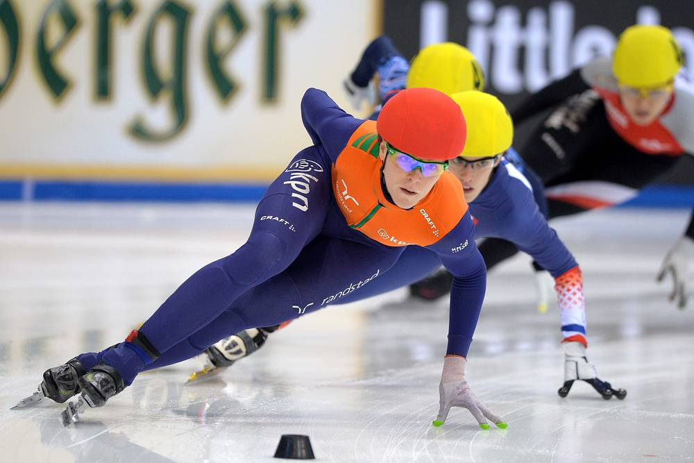 Short Track European championship in Germany in January 2014