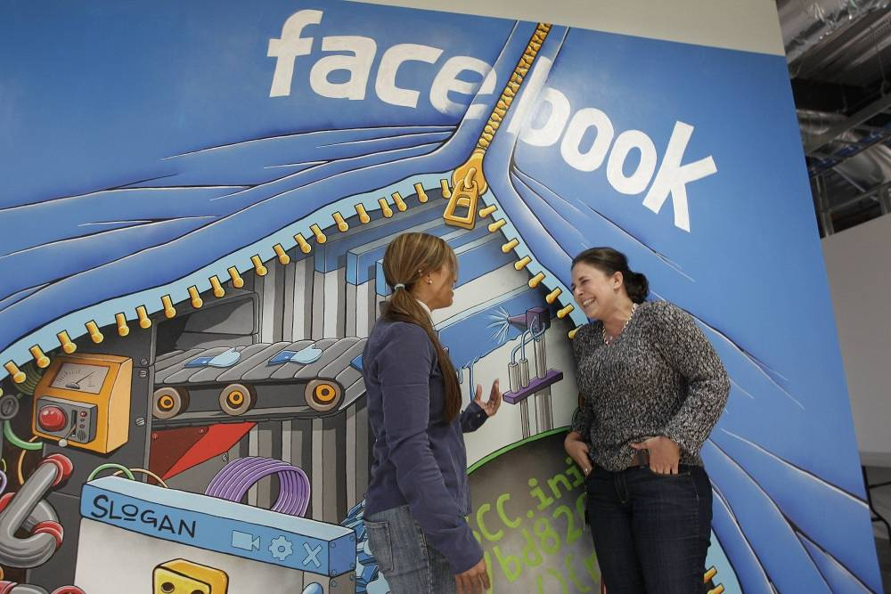 Most of Facebook's revenue comes from advertising