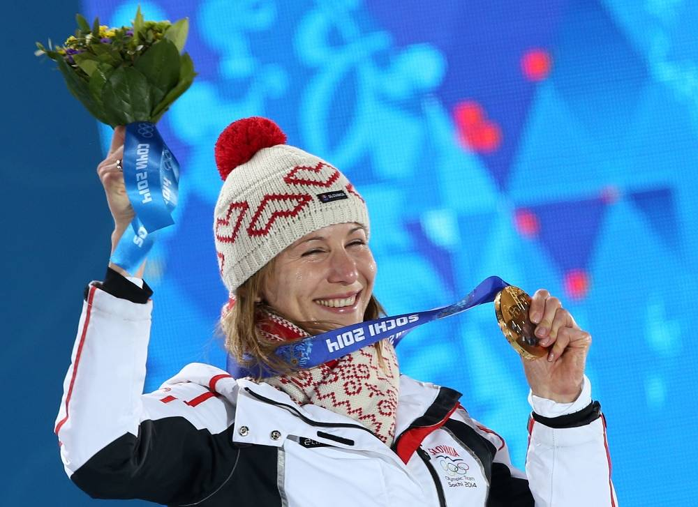 Anastasia Kuzmina who won gold for Slovakia in Sochi, is sister of Russia's famed biathlete Anton Shipulin. She represented Russia before 2008