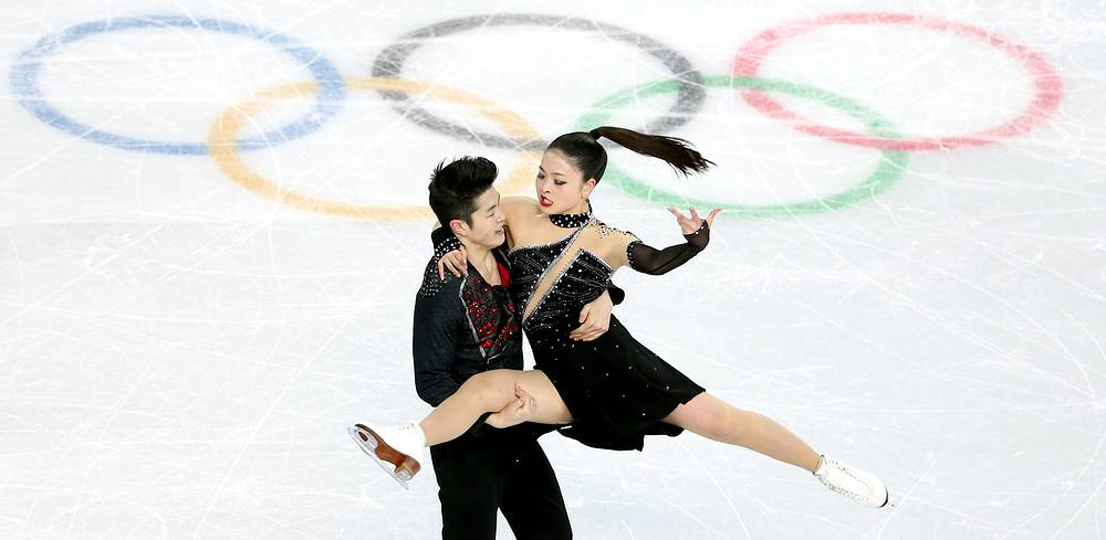 Maia Shibutani and Alex Shibutani of the USA