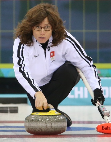 Switzerland's Mirjam Ott (42)