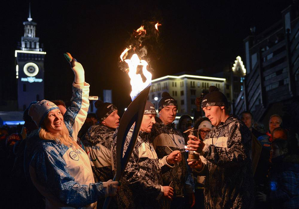 Paralympic torch arrives in Sochi