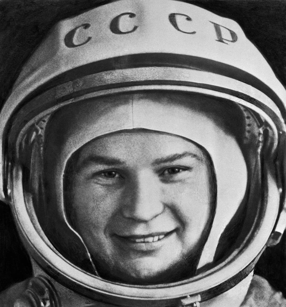 Valentina Tereshkova in 1963