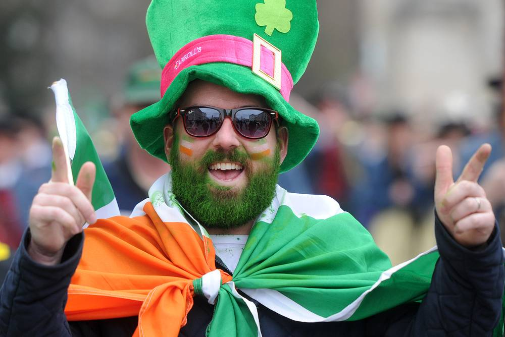 St. Patrick's Day Parade in Munich, Germany