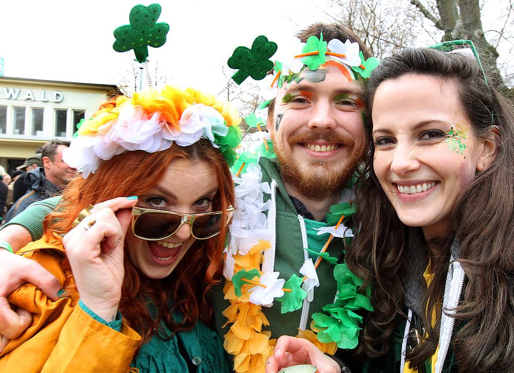 St. Patrick's Day Parade in Berlin, Germany