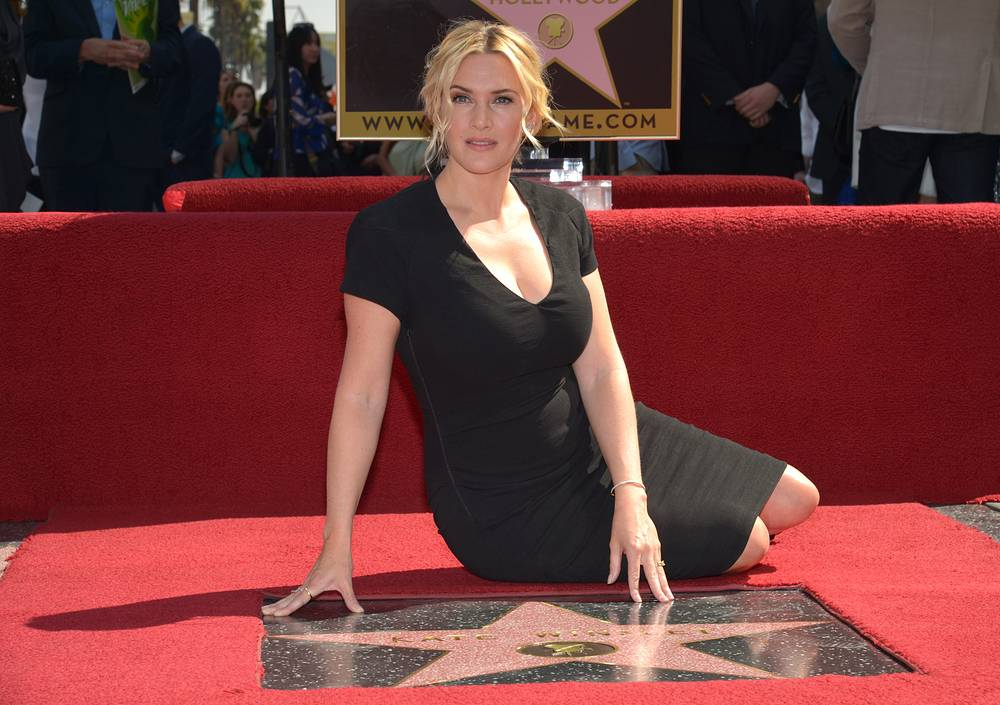Kate Winslet has received a Star on Hollywood Walk of Fame