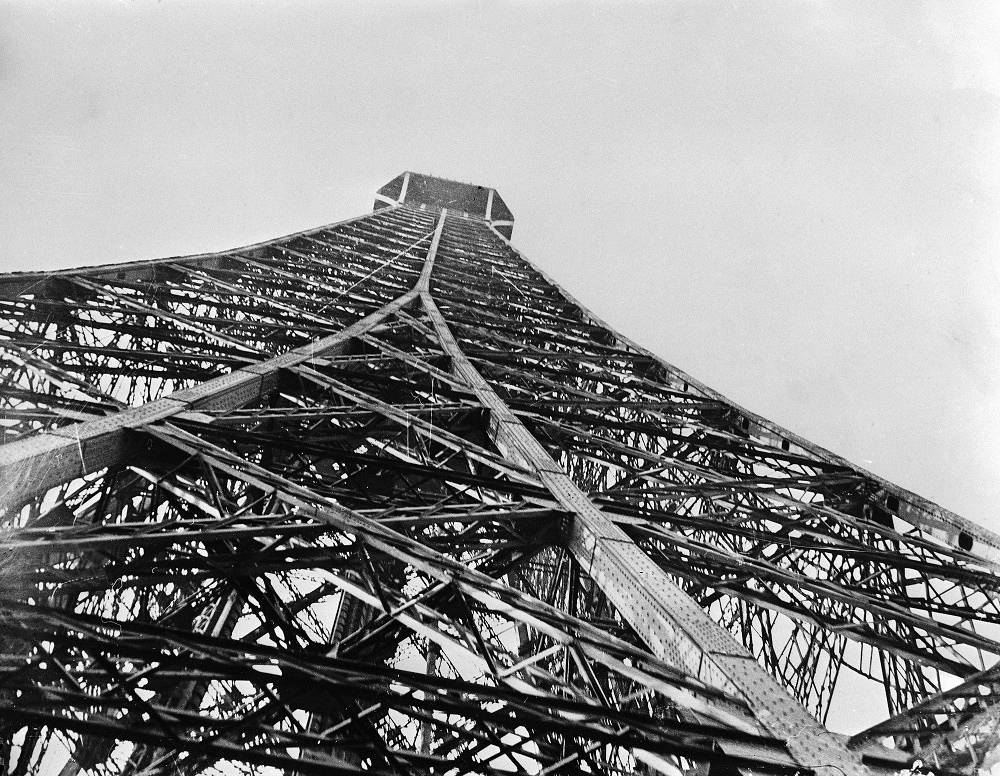 The Eiffel tower was built on the Champ de Mars in Paris for the 1889 World's Fair