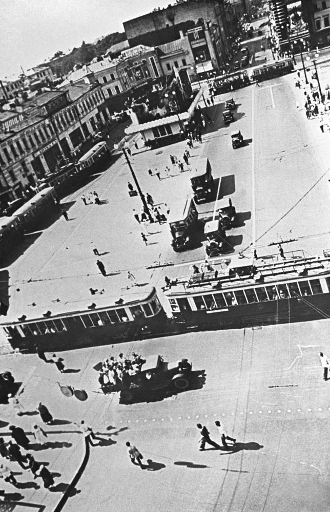 A view of Moscow in the 1930's