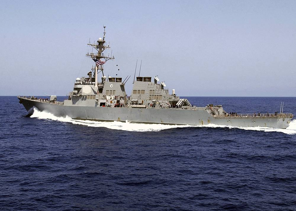 Guided missile destroyer USS Donald Cook (archive)