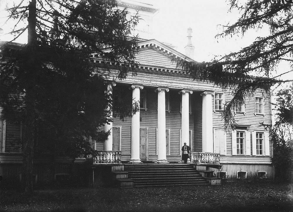 Rozhdestveno Memorial Estate inherited by Vladimir Nabokov from his uncle, Vasily Rukavishnikov, in 1916
