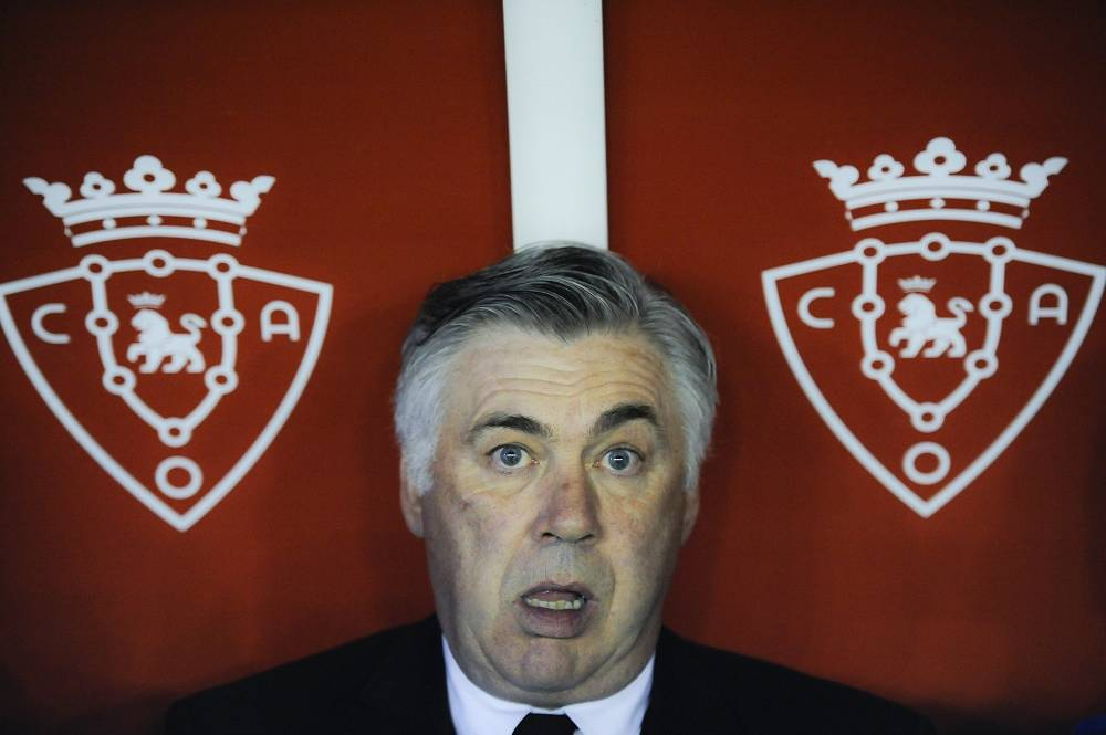 Real Madrid's Carlo Ancelotti is also in the top-ten with $10.5 million per year