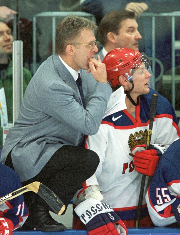 Viacheslav Fetisov was named general manager of the Russian national team for the 2002 Winter Olympics in Salt Lake City, where Russia won the bronze medals