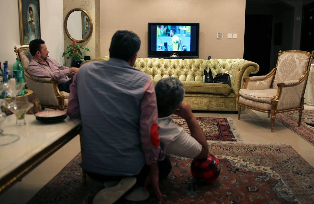 World Cup viewers in Dubai