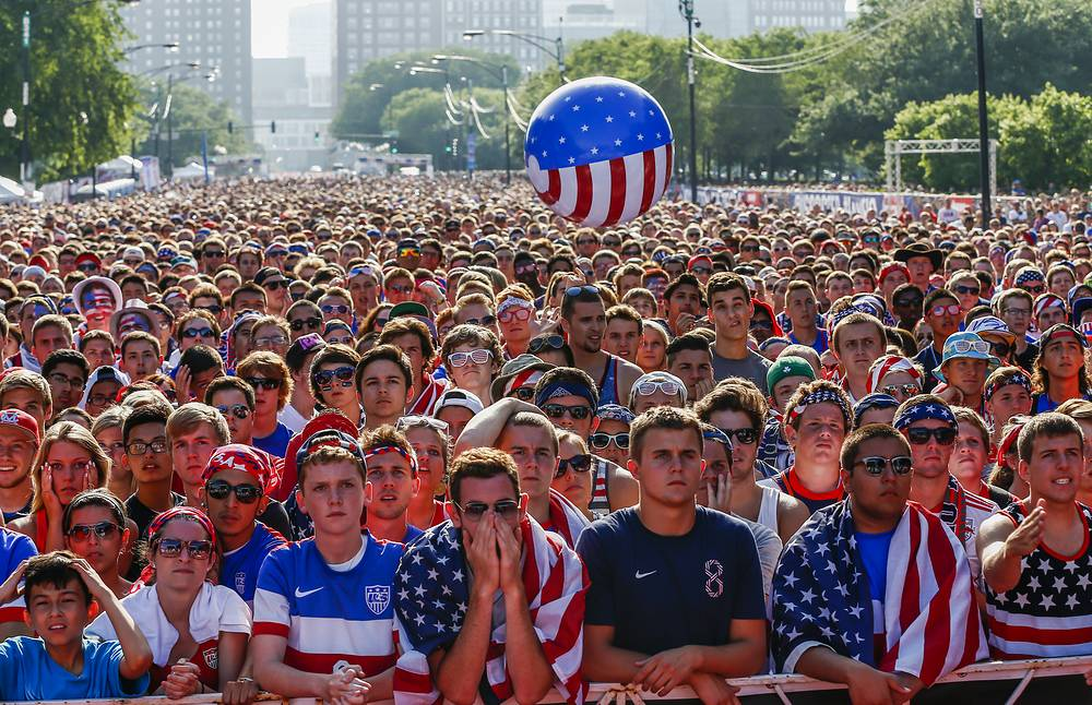 US supporters in Manaus