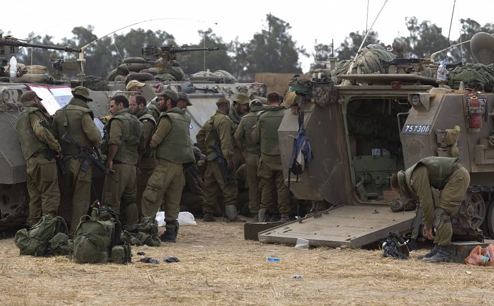 Since the beginning of Operation Protective Edge, around 70,000 extra troops have been called up