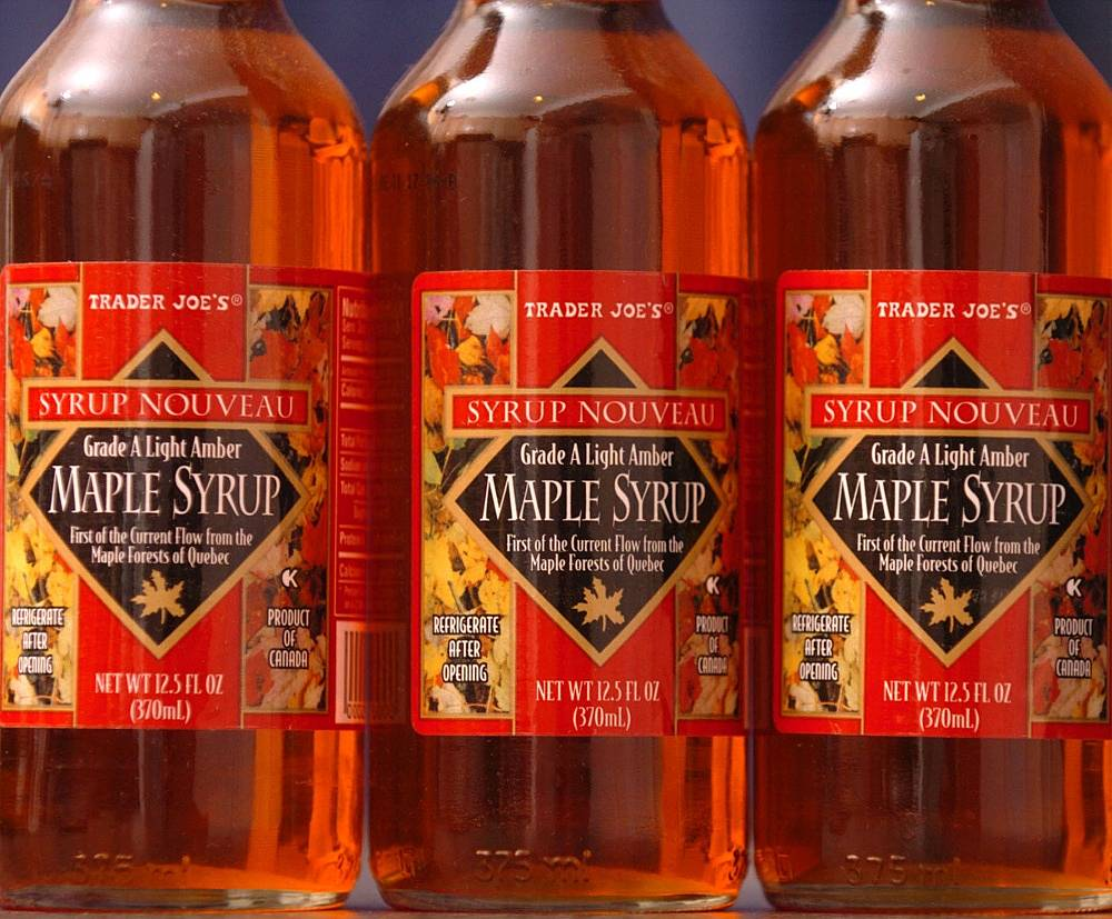 Canadian maple syrup
