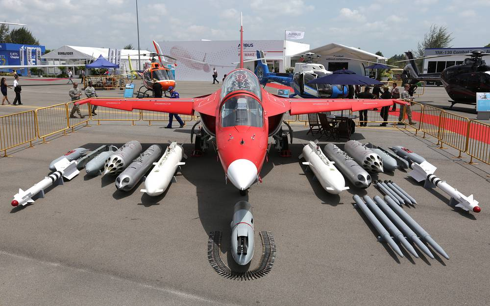 The Yakovlev Yak-130 is the only jet trainer and attack aircraft in the russian Air Force. The Yak-130 is able to replicate the characteristics of several 4+ generation fighters as well as the fifth-generation Sukhoi PAK FA