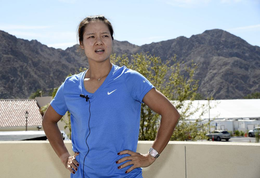 Li Na of China is second on the list with earnings of $23.6 million