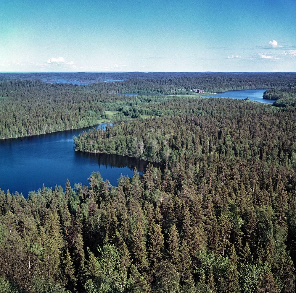 A view of Greater Solovetsky Island