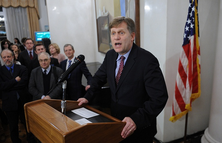 """Michael McFaul, a Stanford academic, headed the US diplomatic mission in Moscow in 2011-2014. Russian Foreign Minister Sergei Lavrov described him as """"a political appointee who took liberties."""" McFaul confessed that the Russia-US rift over Syria was one of his major failures as ambassador."""