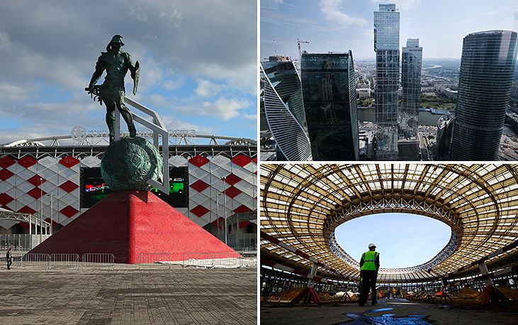 Moscow has two stadiums to be the venue for the global football championship in less than four years. They are the recently-built Otkritie-Arena, which opened on September 5, and Moscow's old Luzhniki Arena, which is currently under reconstruction and is intended, according to the organizers, to host the final match of the 2018 World Cup