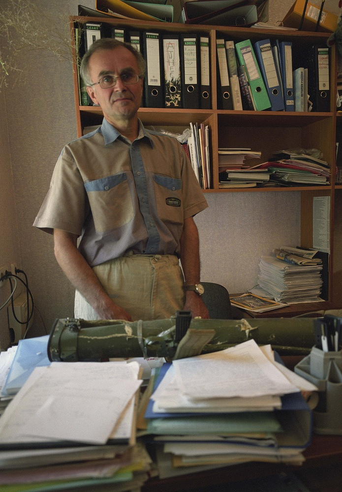 Andrei Mironov was killed in eastern Ukraine along with Andrea Rocchelli