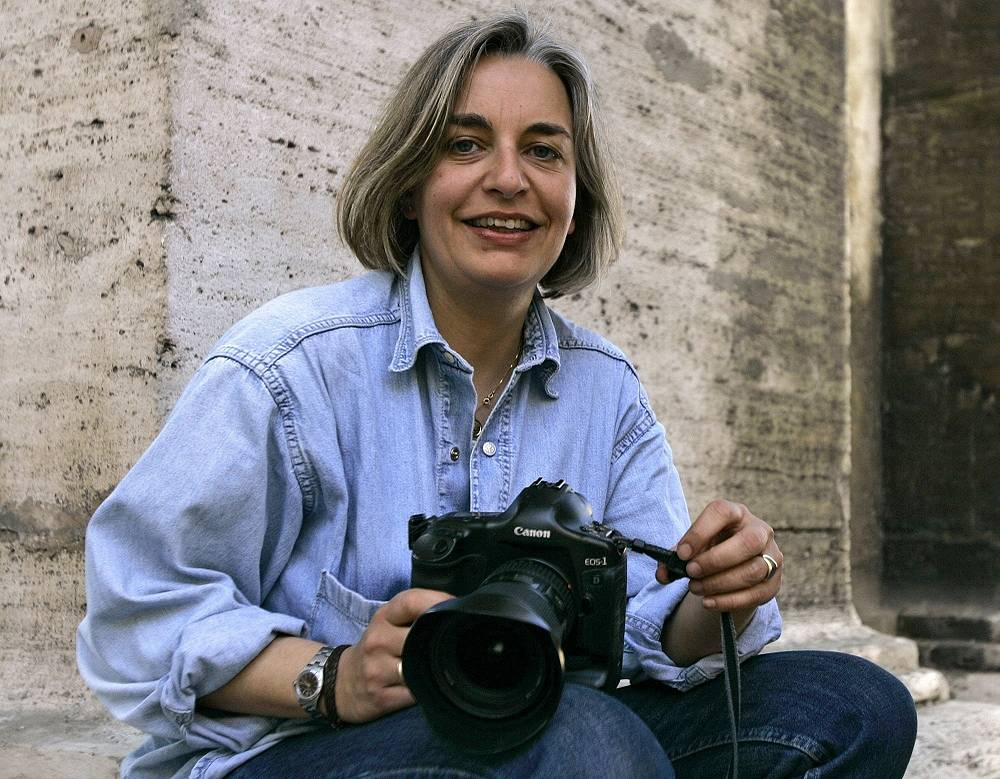 Associated Press photographer Anja Niedringhaus was killed when an Afghan policeman opened fire while they were sitting in their car in eastern Afghanistan