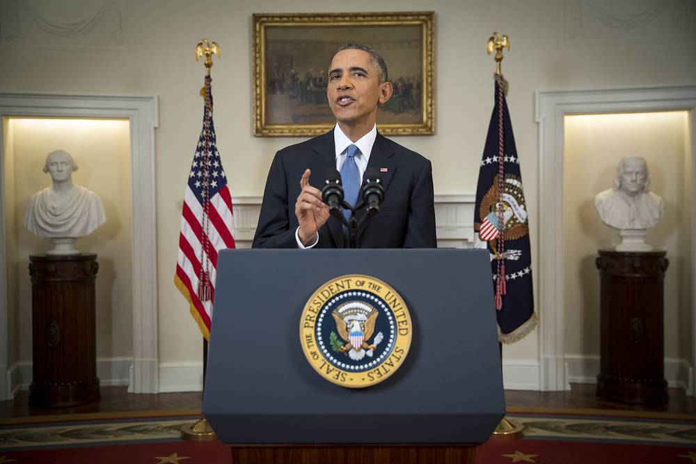 US President Barack Obama announced the resumption of diplomatic relations as well as an easing in economic and travel restrictions on Cuba