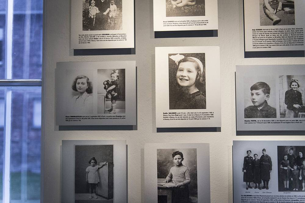 Portraits of child prisoners of the Auschwitz-Birkenau concentration camp