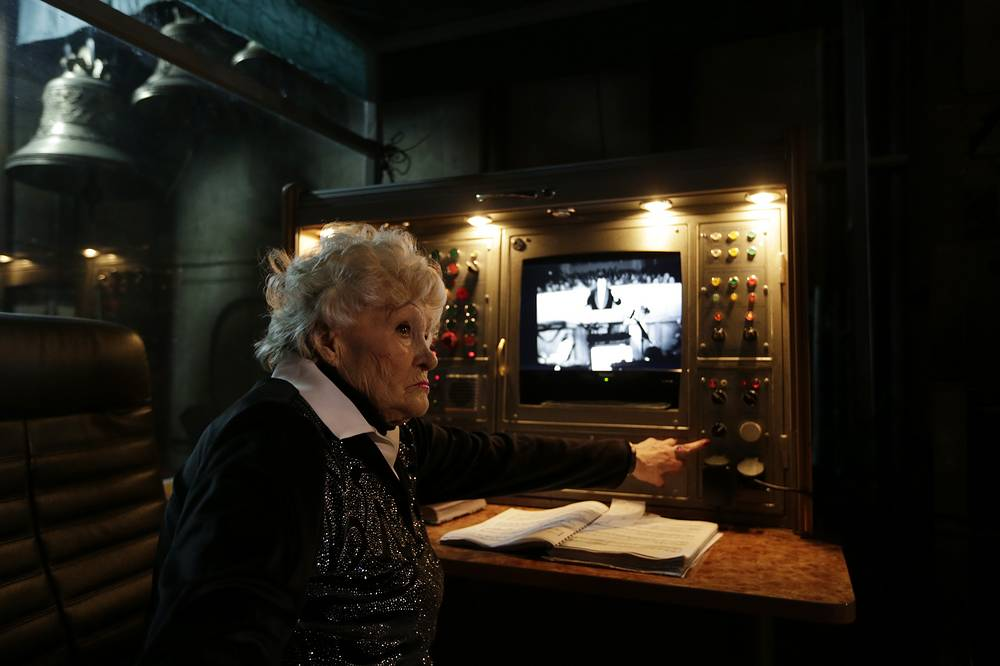 The backstage manager with the Donbas Opera Theater