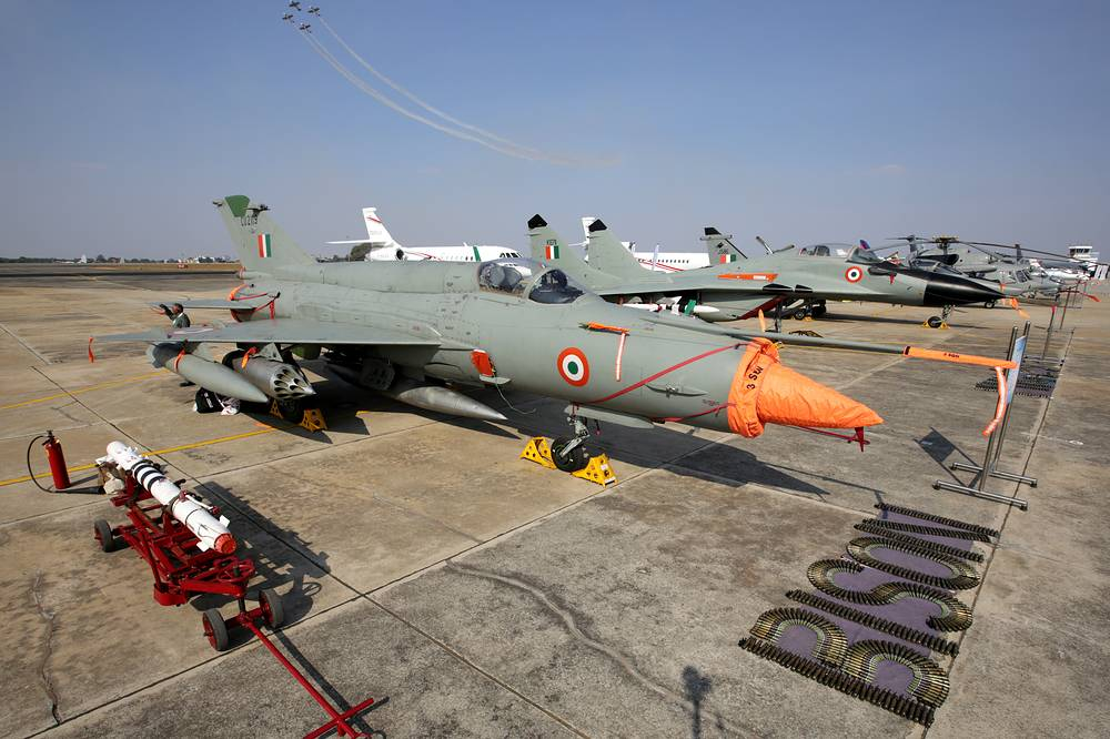 MiG-21 fighter aircrafts of the Indian Air Forces